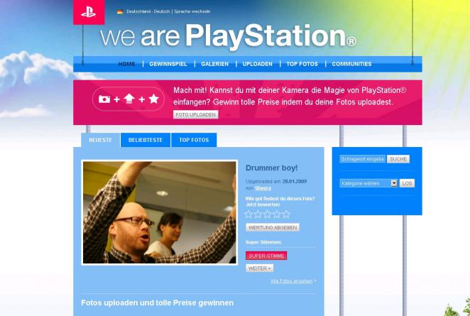 WeArePlayStation.com - Foto Wettbwerb