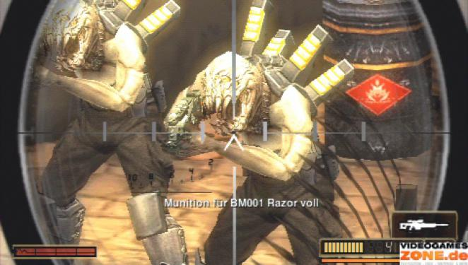 Resistance: Retribution - PlayStation Portable (1)