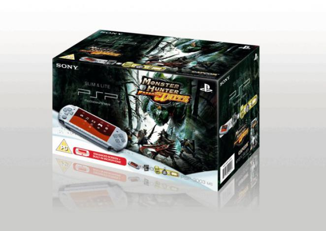 Monster Hunter Freedom Unite PSP Bundle