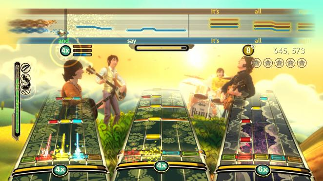 Screenshots aus The Beatles: Rock Band (4)