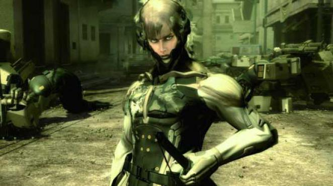 Raiden aus Metal Gear Solid 4