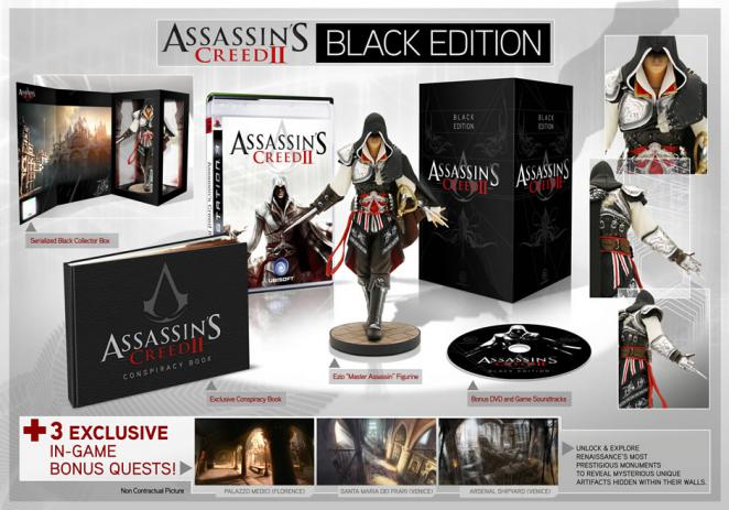 Assassin's Creed 2 - Black Edition