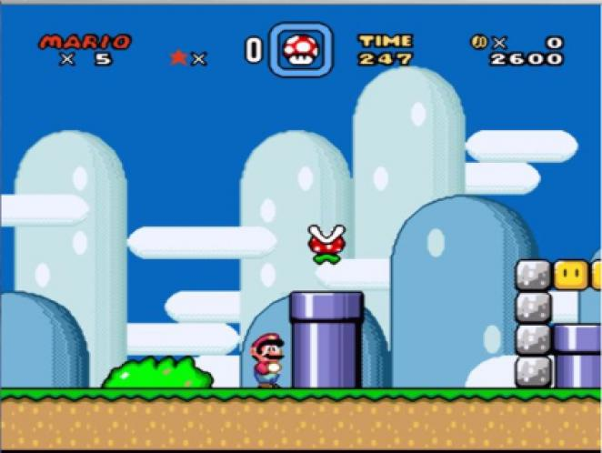 1990: Super Mario World (SNES)
