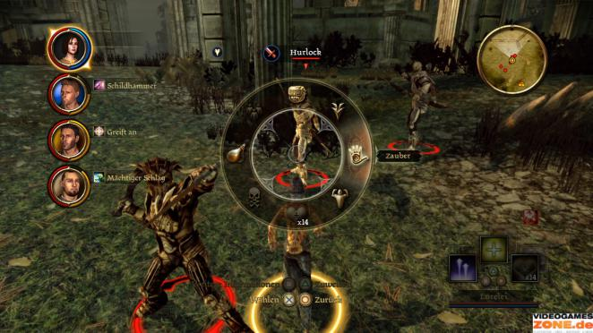So funktioniert die Steuerung in Dragon Age: Origins