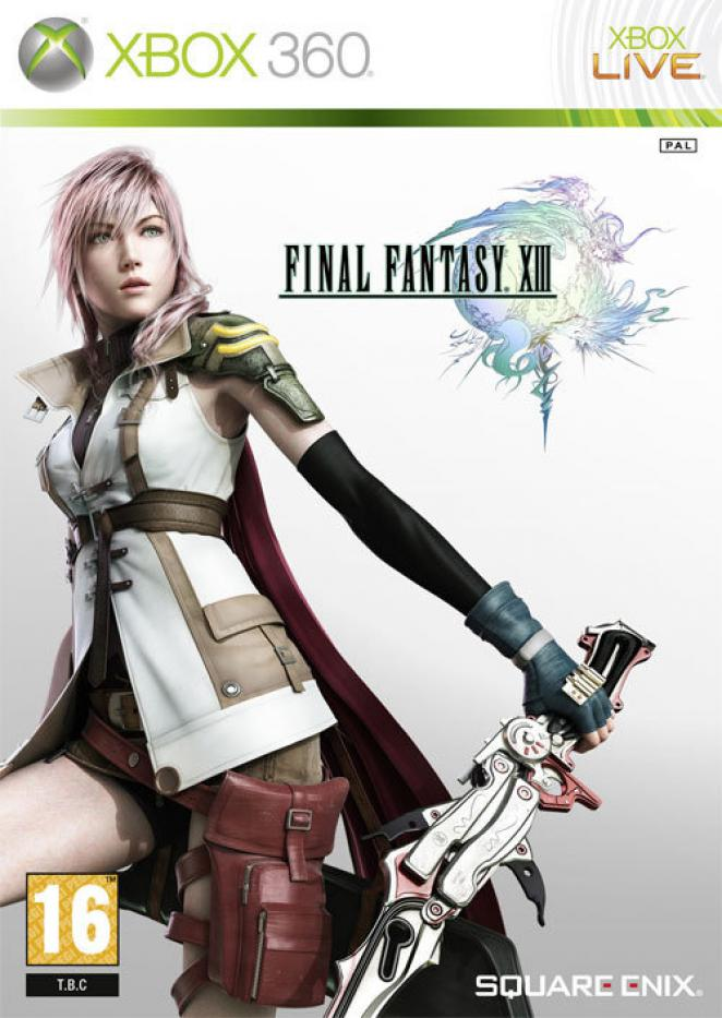 Final Fantasy XIII - Xbox 360 Packshot