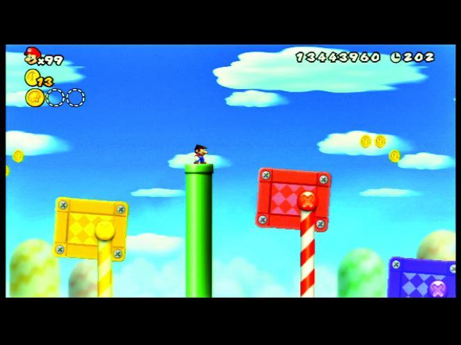 New Super Mario Bros Wii Komplettlösung Alle Münzen In Welt 9