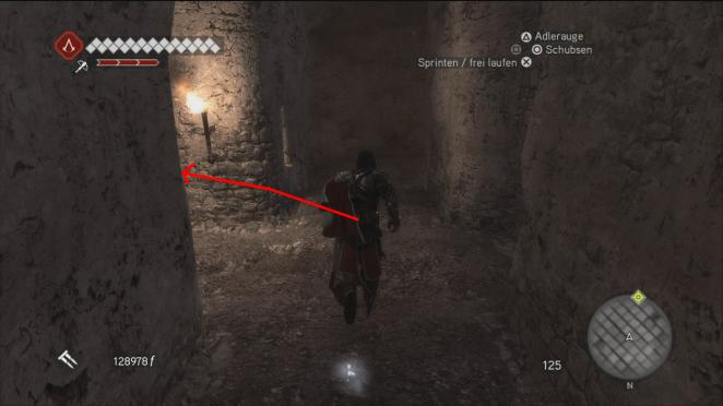 Assassin 39 s creed brotherhood komplettl sung plus glyphen guide l sung zu den assassinen gr bern - Toilettenspulung lauft nach spulkasten in der wand ...