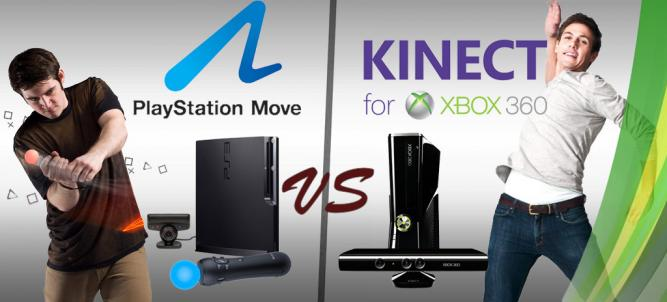 Kinect vs. PlayStation Move - Welche Peripherie macht das Rennen?