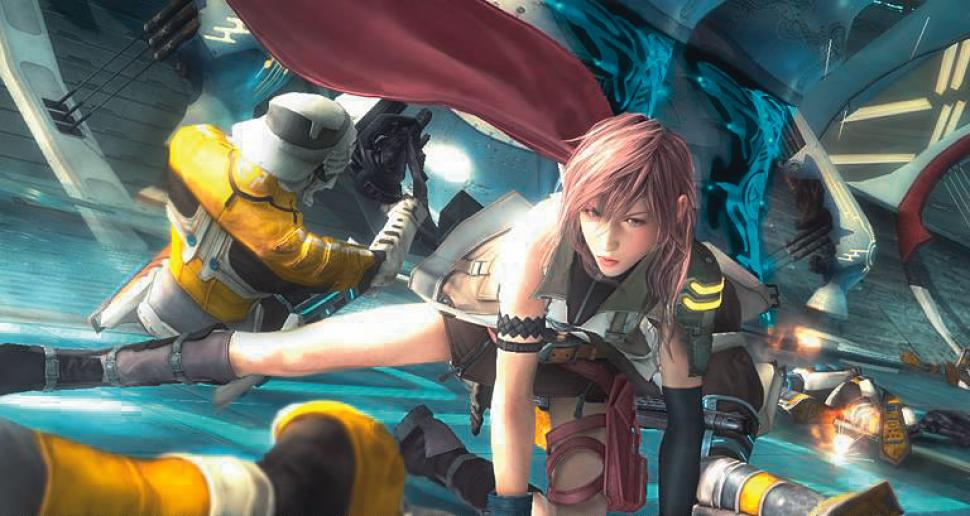 Screenshot aus Final Fantasy XIII