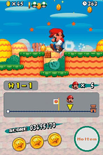 2. New Super Mario Bros