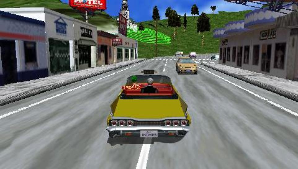 Crazy Taxi - Sega kündigt PSP-Version an (1)