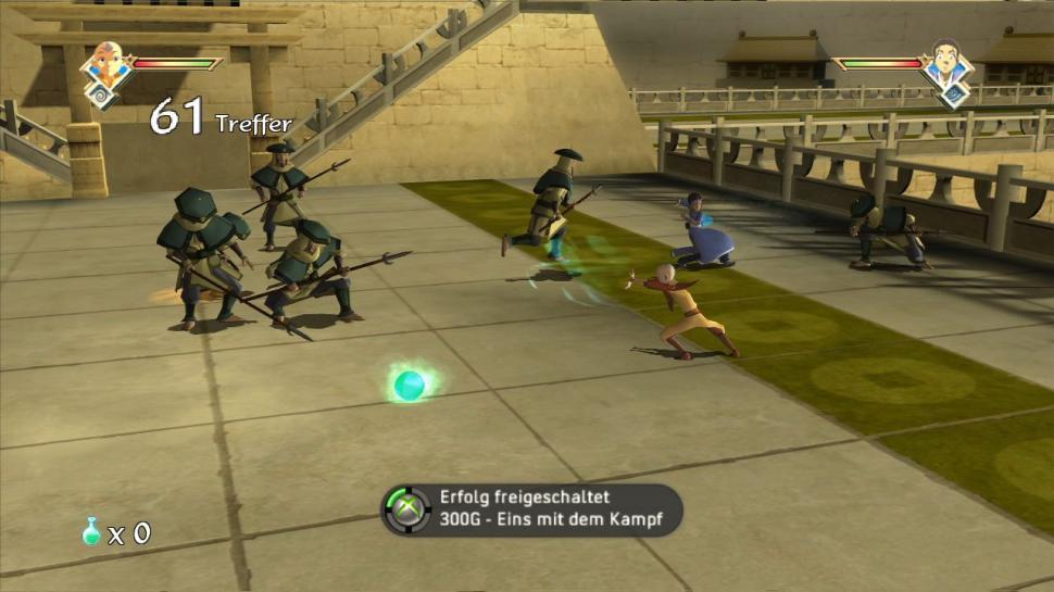 avatar der herr der elemente spiele