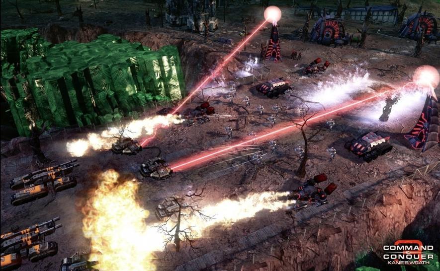 Command conquer 3 ярость кейна патч 1 09.