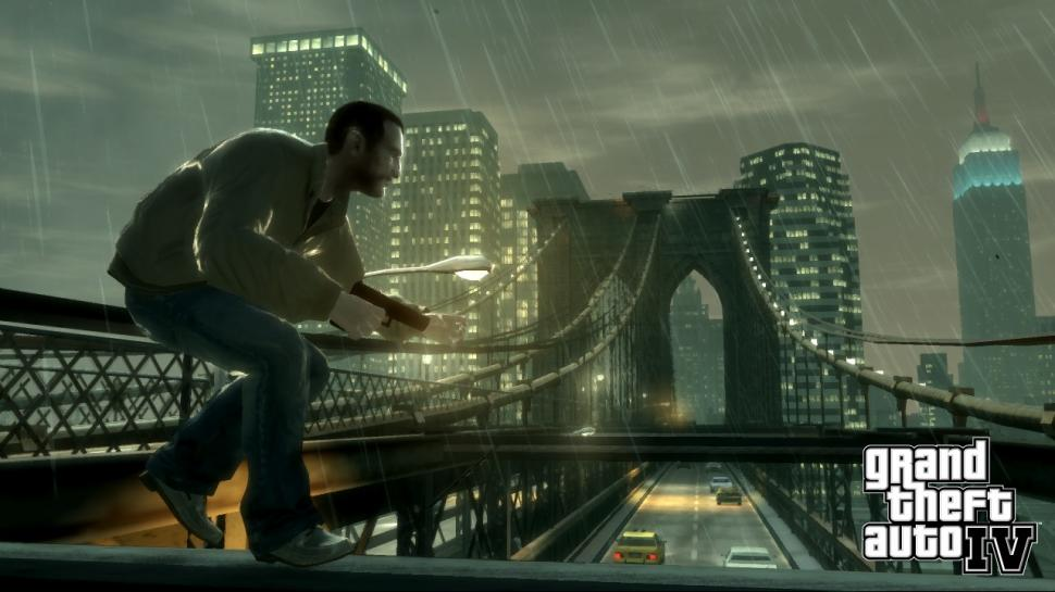 Grand Theft Auto IV - Niko Bellic - GTA IV - Rockstar