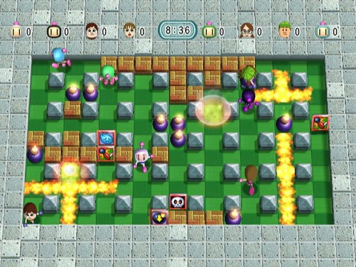 WiFi 8 Battle Bomberman - WiiWare