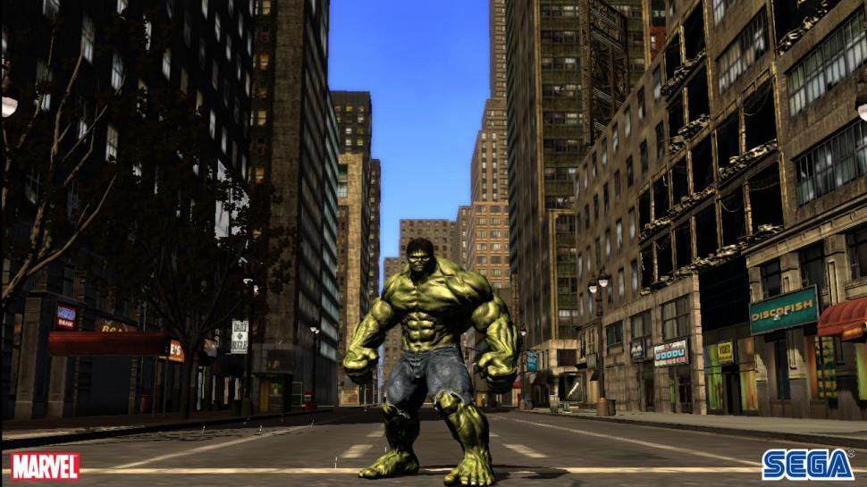 Hulk - PlayStation 3 Screenshots