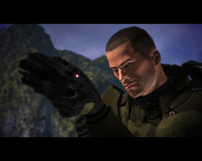Screenshots aus Mass Effect.