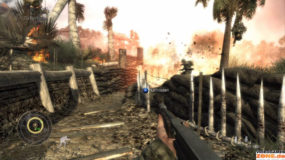 Screenshots aus Call of Duty: World at War (dt.) (1)