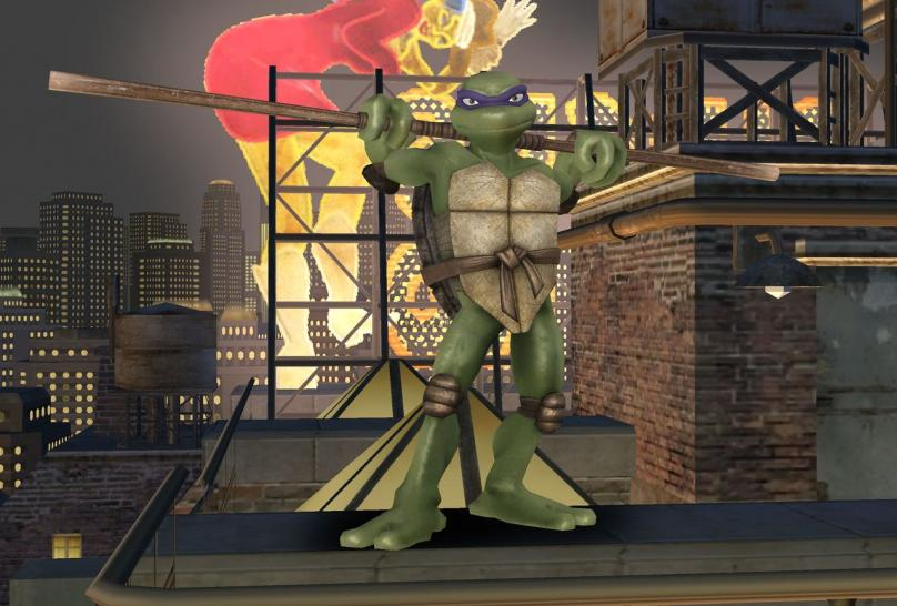 Screenshot aus Teenage Mutant Ninja Turtles: Smash Up (Wii)