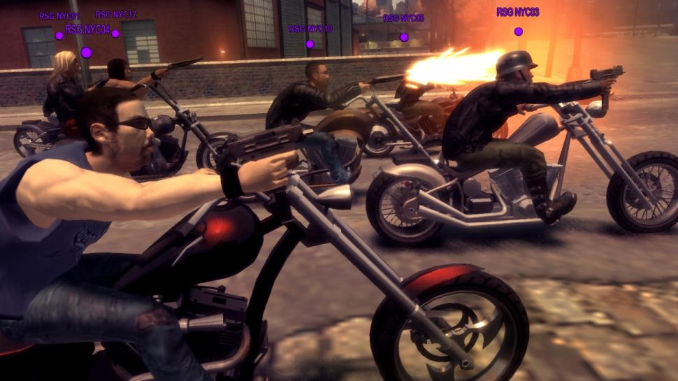 GTA 4: The Lost and Damned: Screenshots aus dem Multiplayer-Modus (1)