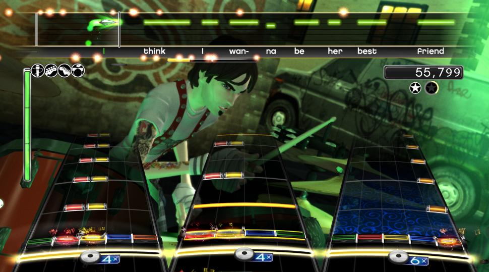 Screenshots aus Rock Band 2 (1)