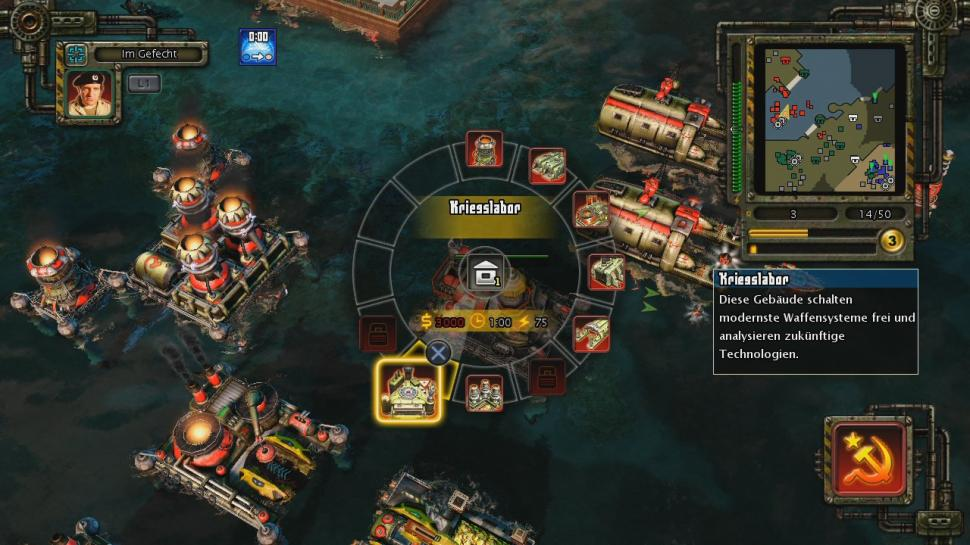 Screenshot aus Command & Conquer: Alarmstufe Rot 3 (PS3 / Xbox 360)