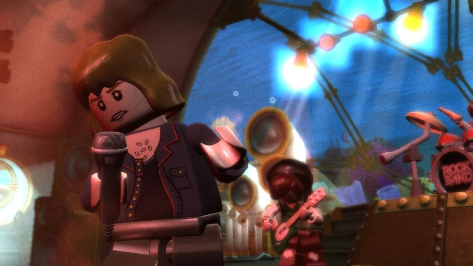 Screenshots aus Lego Rock Band (1)