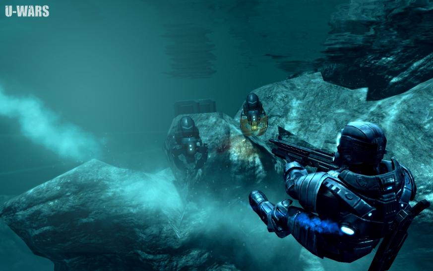 Screenshot zu U-Wars (Underwater Wars).