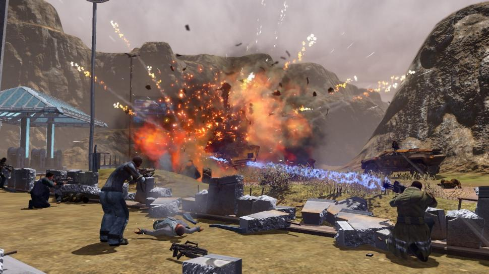 Red Faction: Guerrilla Screenshots (PS3 und Xbox 360) (1)