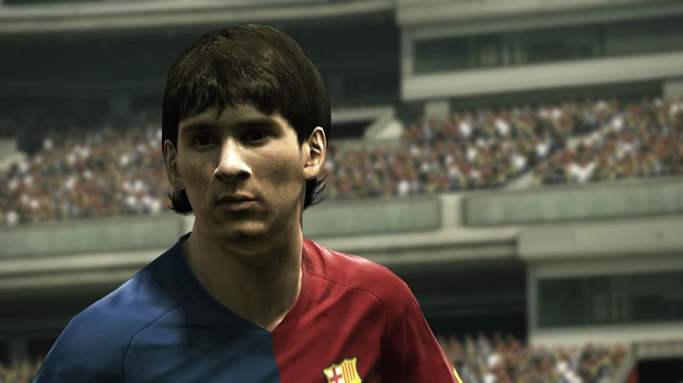 PES 2010 HD-Screenshot Lionel Messi