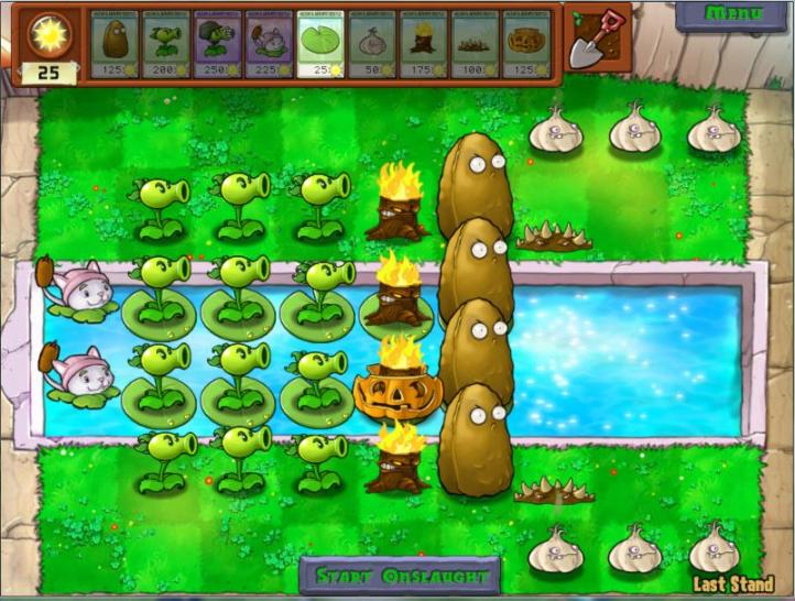 Screenshots zu Plants vs. Zombies. (1)