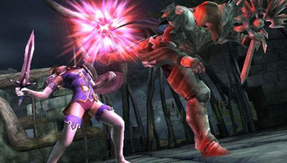 Screenshots aus Soulcalibur: Broken Destiny für PSP (1)