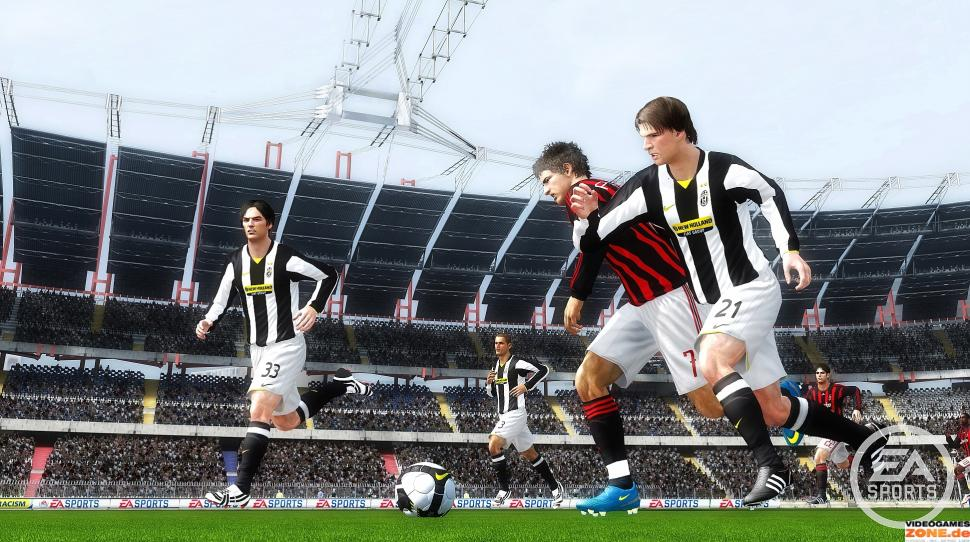 Screenshot aus FIFA 10