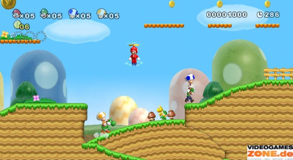 Screenshots aus New Super Mario Bros. Wii (1)