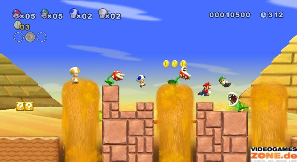 1. New Super Mario Bros. Wii