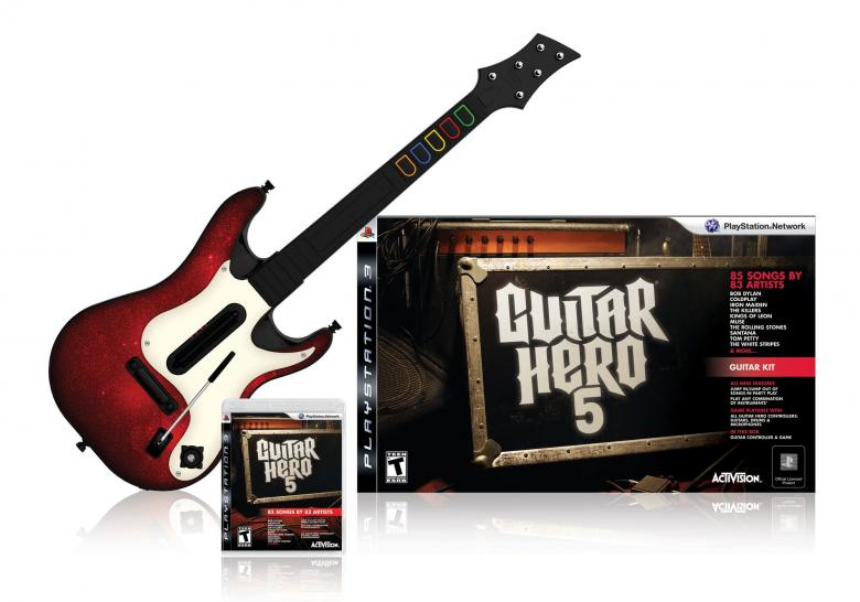 Guitar Hero 5 Packshot für PS3