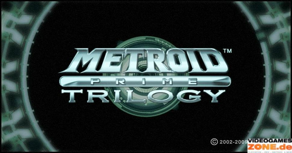Wii Metroid Prime Trilogy Main Title