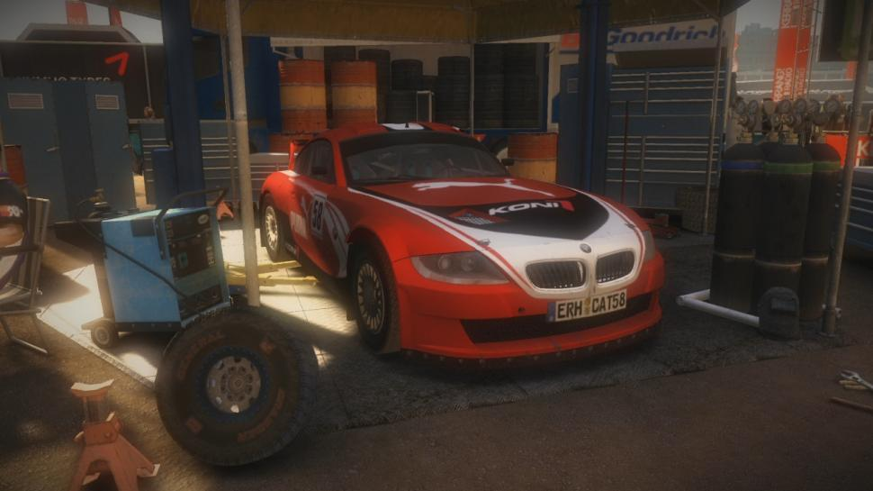 BMW Z4 Coupe Motorsport aus Colin McRae: Dirt 2.