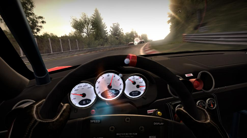 Der Porsche Cayman S aus Need for Speed: Shift im Screenshot. (3)