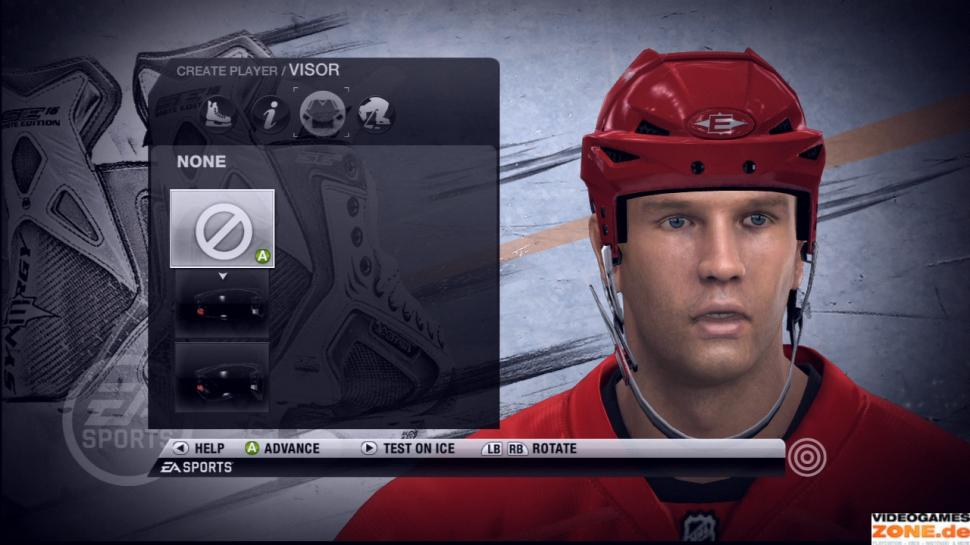 Daniel Cleary - Detroid Red Wings in NHL 10 (2)