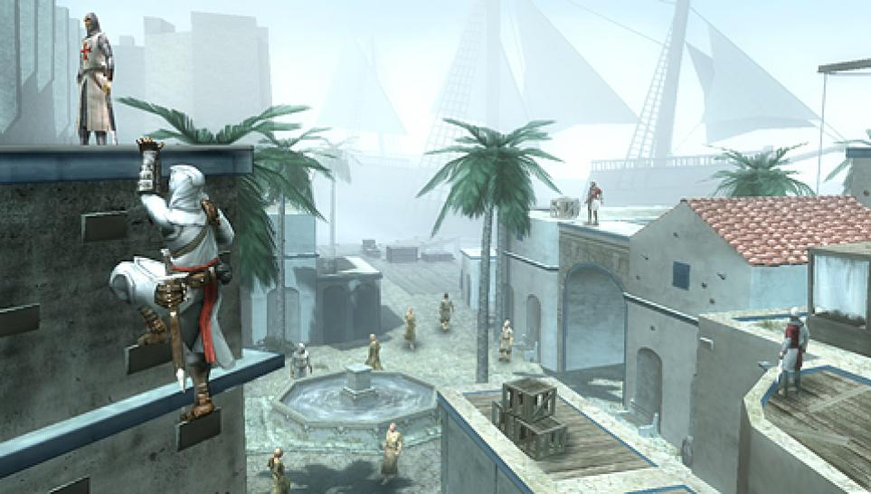 Neuer Screenshot aus Assassin's Creed: Bloodlines für die PSP.