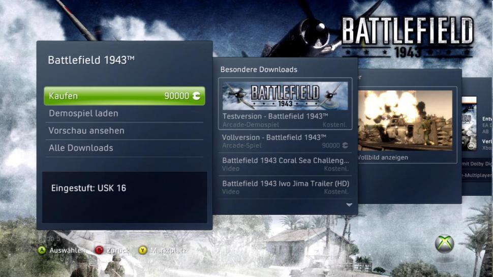 Xbox 90000 Dann ladet euch battlefield 1943 fr xbox 360 herunter Xbox 90000