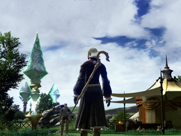 Screenshots aus Final Fantasy 14 (1)