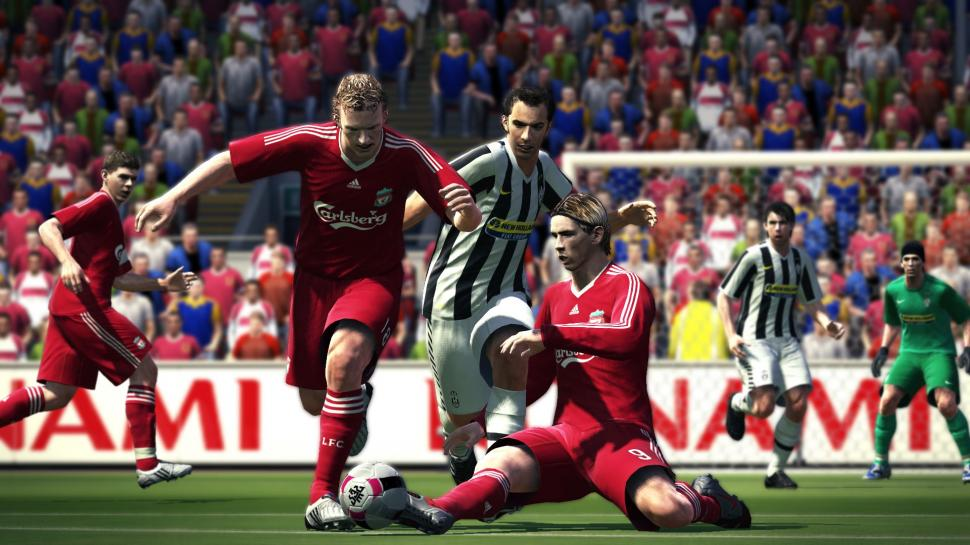 Screenshots aus Pro Evolution Soccer 2010 (1)