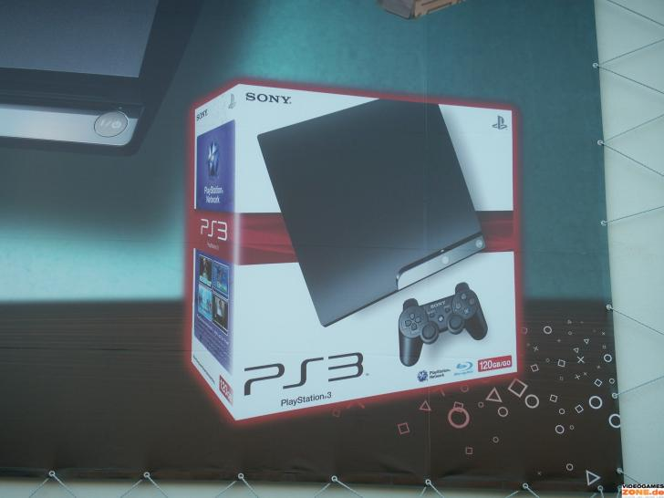 Packshot der PS3 Slim
