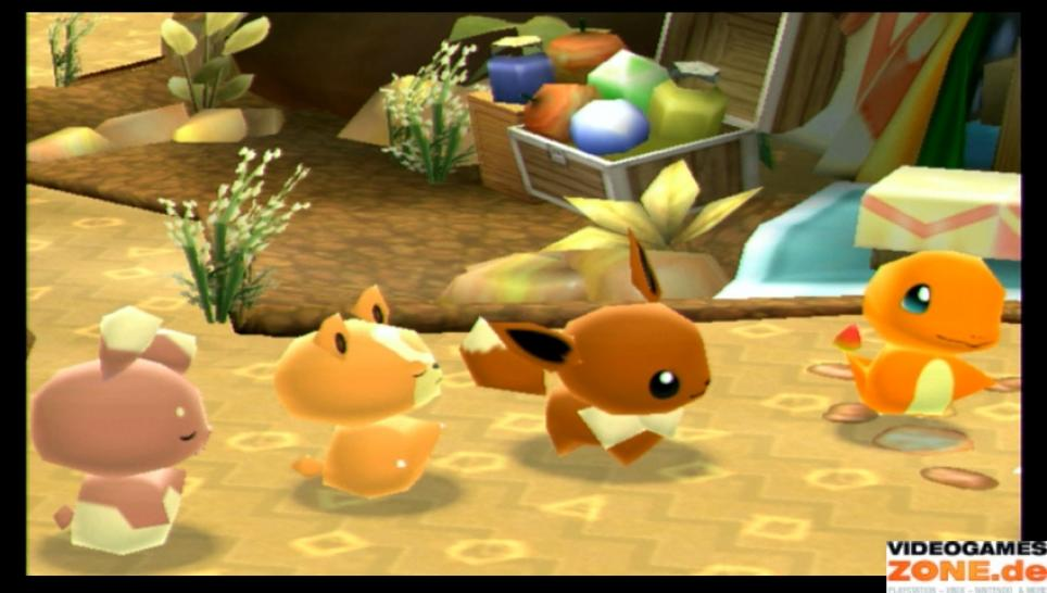 Screenshots aus Pokémon: Mystery Dungeon für WiiWare (1)