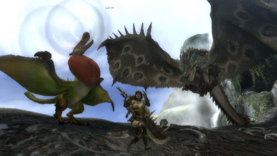 Screenshots aus Monster Hunter 3 für Wii (1)