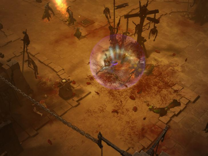 Screenshots aus der Beta-Version von Diablo 3. Bild: PC-Version  (1)