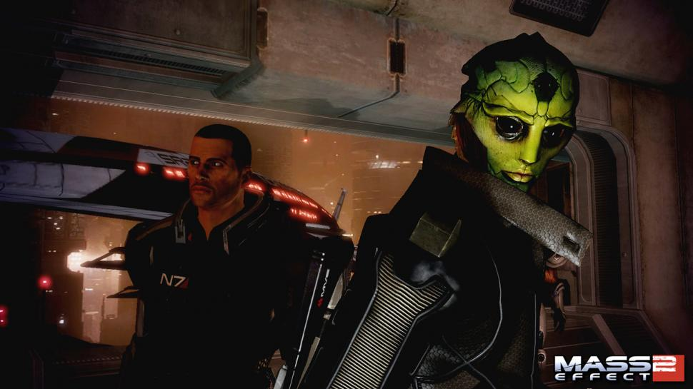 Neue Screenshots aus Mass Effect 2 enthüllen den Charakter Thane. (1)