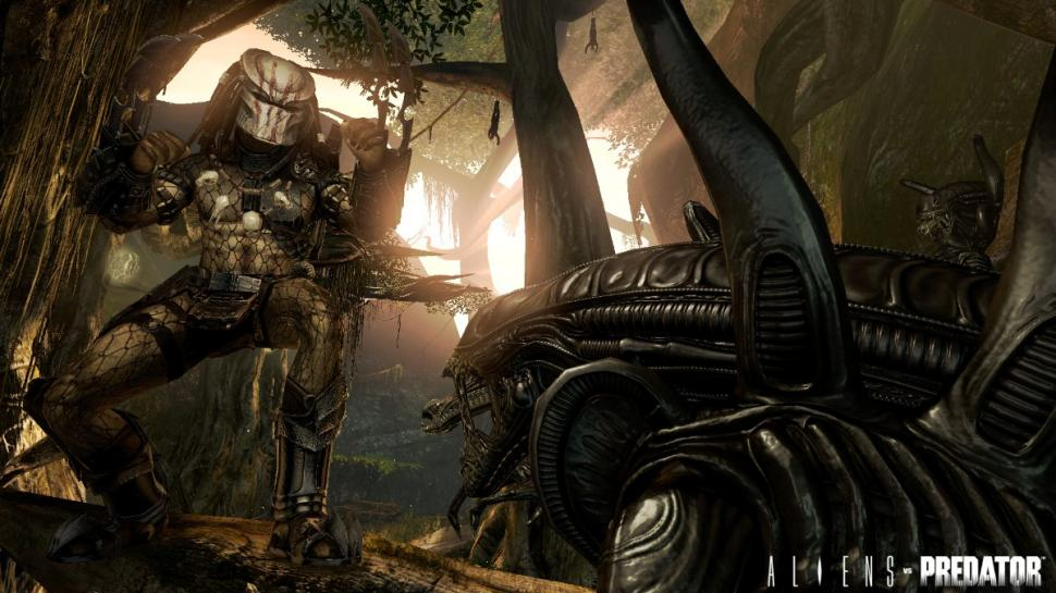 gamescom-Screenshots zu Aliens vs. Predator.